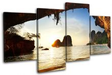 Paradise Thailand Sunset Seascape - 13-0358(00B)-MP04-LO